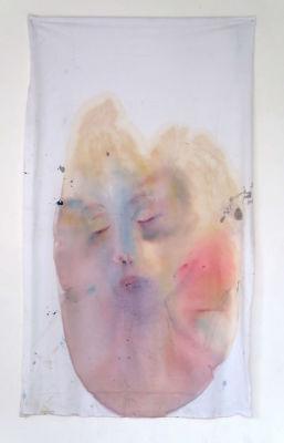 Peinture sur drap