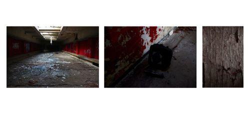 En ce laissant aller au gré des salles, on découvre un site oublier par le temps. Je photographie cet abandon.